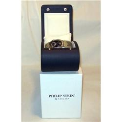 Philip Stein Teslar Man's Wristwatch MIB #2390890
