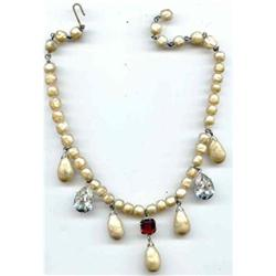 SALE Miriam  Haskell Early Necklace #2390924