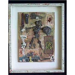 1980's Visionary Triptych By Sandra Jackman #2391247
