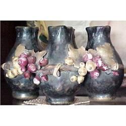 Iridescent four vessel Amphora vase #2391254