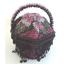 Handmade beaded evening purse #2391261