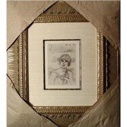 Bonnard ORIGINAL 1930 Authentic Framed #2391275