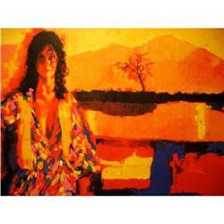 Nicola Simbari, Apres Midi Original Hand signed#2391277