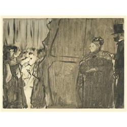 Degas 1st Edition soft-ground Etching #2391279
