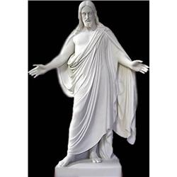 SPLENDID RARE JESUS CHRIST STATUE SCULPTURE #2391292