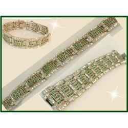 Vintage Deco 450 RS PAVE Bookpiece bracelet #2391330