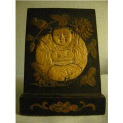 Chinese detailed giltwood Budha Magnificent! #2391343