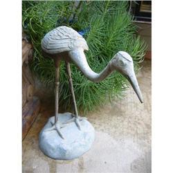 Metal Crane Sculpture! #2391355