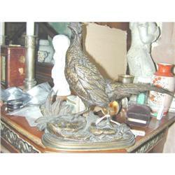 Bronze Sculpture by delaBriere of Bird #2391379