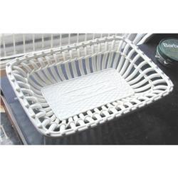 Royal Vienna Creamware Basket c.1840 #2391386