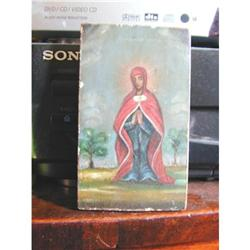 Wonderful Primitive Russian Icon on Panel #2391387