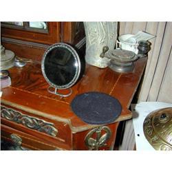 Important Georgian Silver Surround Mirror/Etui #2391392