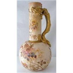 Doulton Burslem Dragon Vase c1882 #2391401