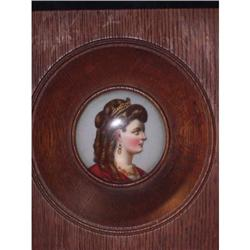 Handpainted Portrait on porcelain of   Sisi #2391403