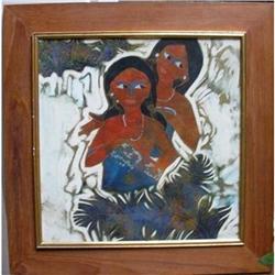 Thai Painting 13 x 13 (1) #2391405
