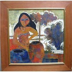 Thai Painting 13 x 13 (2) #2391406