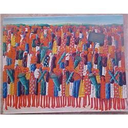 Haitian Painting  by CASIMIR LAURENT #2391407