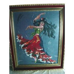 "Gyspy Lady Dancer ""Needlepoint"" #2391411"