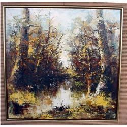 Woods Oil Painting #2391419