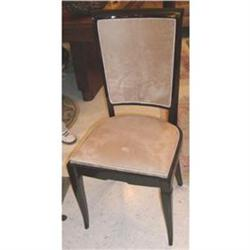 Set of 6 French Art Deco Side Chairs #2391422
