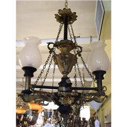 Antique Two Arm Chandelier #2391427