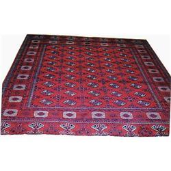 """Persian Bokhara Rug---12'-5""""x10'-3"""" #2391429"""