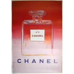 Original  Chanel Poster by Andy Warhol #2391433