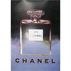 Original  Chanel Poster by Andy Warhol #2391434