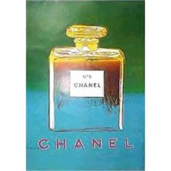 Original  Chanel Poster by Andy Warhol #2391435