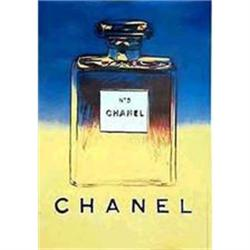 Original  Chanel Poster by Andy Warhol #2391436