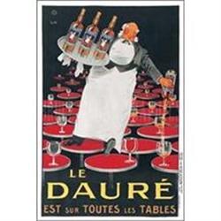 Le Daure poster, c1960s,  A, Linen #2391438