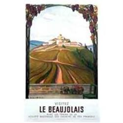 French Travel Poster, Le Beaujolais #2391441