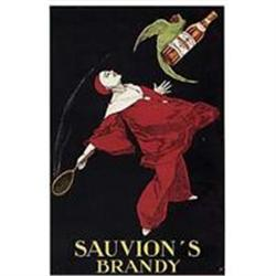 Original Stall Poster, Sauvion's Brandy #2391442
