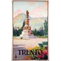 TRENTO; Original Italian Travel Poster ca1920 #2391443