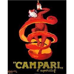 Campari poster by Cappiello,Later printing, 60s#2391446