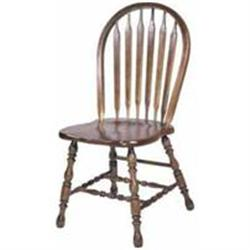 6 Country Arrow Back Dining Chairs #2391454