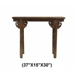Vintage Ming Dynasty Ru-Yi Natural Wood Altar #2391462