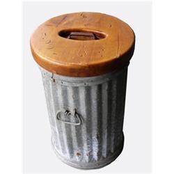 Industrial Trash Can - Pillar - Storage #2391473