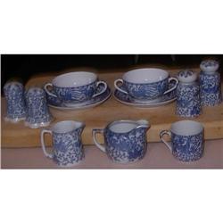 Lot of   Porcelain Phoneix  Pitchers, cups, #2391505