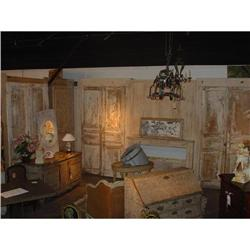 L-Shaped Antique Boiserie with Fireplace from #2391514