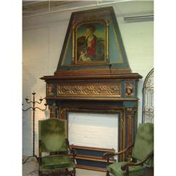 Wooden Italian Fireplace Mantel #2391522