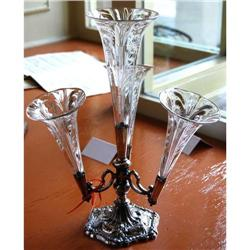 Fabulous Silver on Copper Walker & Hall Epergne#2381550