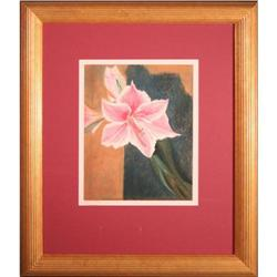 Pink Lily Stems by Rose Brown #2381568