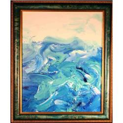 Original Modern, ?Abstract Sea I?, by Richard #2381571