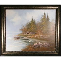 Contemporary Realist Landscape Oil Painting, #2381574