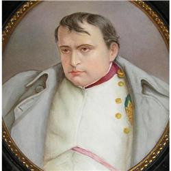 Porcelain Plaque Portrait of Napoleon #2381614