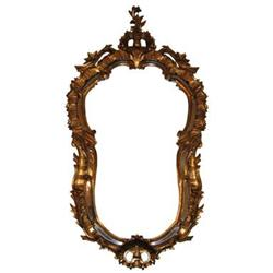 """48"""" Giltwood French Rococo Mirror #2381650"""