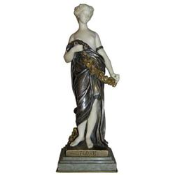 Antique Goddess Flora Bronze Sculpture #2381668
