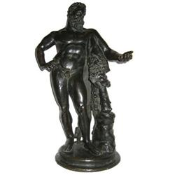 "Antique 27"" Bronze Hercules Figurine #2381680"
