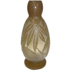 """19"""" Degue Cameo Glass Vase #2381683"""